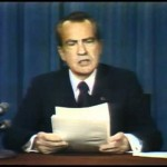 Nixon resigns, August 8, 1974