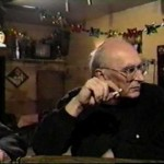 Studs Terkel and Mike Royko at Lawry's Tavern