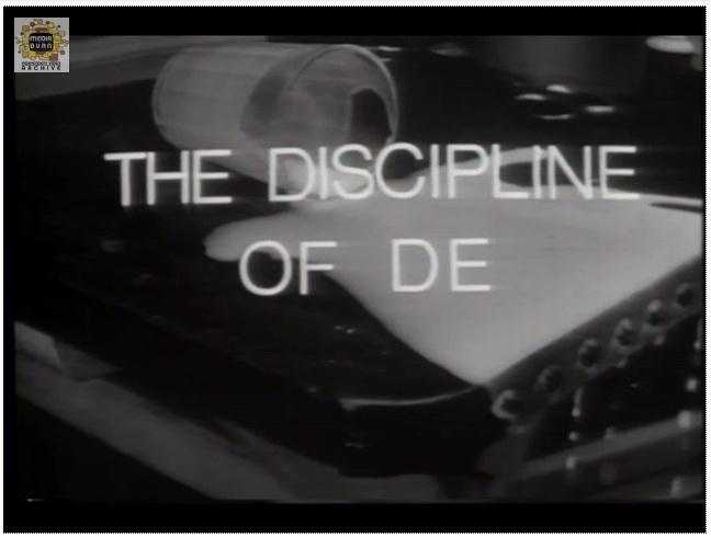 The Discipline of De
