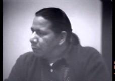 """I've got a future. My people have got a future."" —Native American activist Mike Chosa"