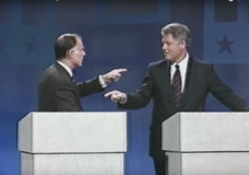 Clinton Defends Clinton