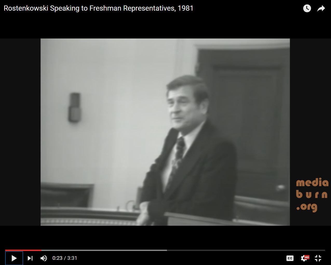 Rostenkowski on Politics 101