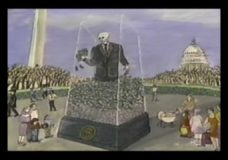 "Money Man Monument: ""A permanent tribute to the American way"""