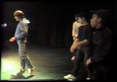 [Breakdancing at Park West, 1983]