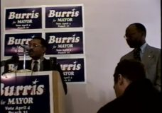 [Roland Burris press conference – Daley votes – Daley inauguration]