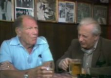 [Studs Terkel with Bill Veeck at Billy Goat Tavern]