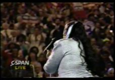 [The 90's Election Specials raw: Aretha Franklin at DNC]