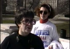 [The 90's Election Specials raw: Carol Moseley Braun walkathon]