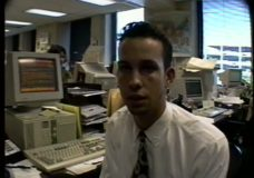 [The 90's Election Specials raw: Clinton campaign headquarters in Little Rock #1]