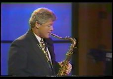 [The 90's Election Specials raw: Clinton plays the sax on Arsenio]