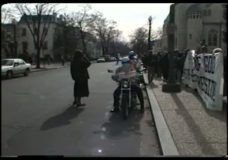 [The 90's raw: El Salvador Demonstration, Bike camera]