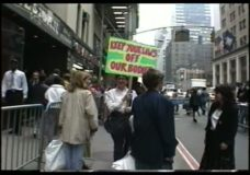 [The 90's raw: pro-choice demonstration]