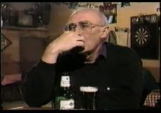 [The 90's raw: Studs Terkel with Mike Royko at Lawry's – Tony Fitzpatrick at Lawry's]