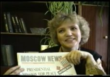 [The 90's raw: who should be president questions from Moscow]