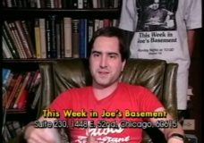 This Week In Joe's Basement, episode 38: Why I Make A TV Show Called This Week in Joe's Basement or The Diapers and Daisies Dance, Part I.