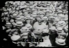 [Archival baseball footage]
