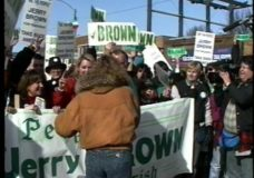 [The 90s Election Specials raw: Brown at South Side Irish parade #2]