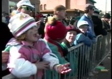 [The 90's Election Specials raw: South Side Irish parade, post-debate gathering]
