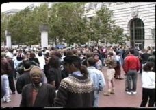 [The 90's raw: ACT-UP rally in San Francisco]