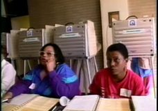 [The 90s Election Specials raw: polling places]