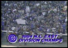 [Cubs salute the fans 1984]