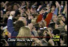 [The 90's election specials raw: Clinton election night in Little Rock]