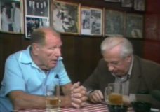 [Studs Terkel with Bill Veeck at Billy Goat Tavern]