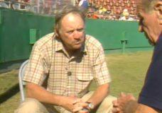 [Bill Veeck interviews Frank Cashen]