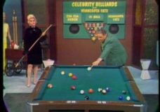 [Once a Star : Robyn Smith, Celebrity Billiards 1968]