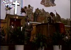 [Louis Farrakhan / Ernest Withers]