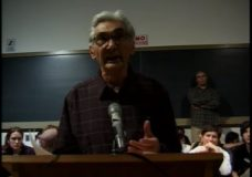 [Howard Zinn raw #51: Zinn continues his remarks on U.S. global involvement and answers questions]