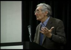 [Howard Zinn raw #14: Lecture on the omissions and the nature of history]