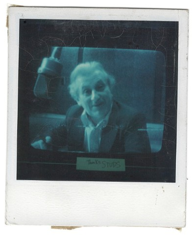 Pop up Studs Terkel exhibit at Media Burn October 12