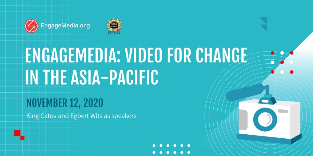 11/12/20: Virtual Talks with Video Activists: EngageMedia