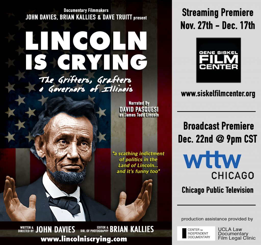 Streaming 11/27-12/17: LINCOLN IS CRYING Documentary