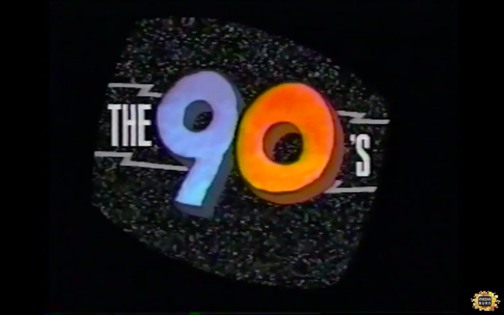 The 90's Title Screen